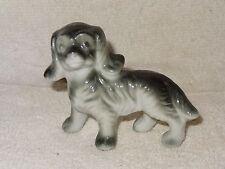 Vintage Cute Puppy Dog Porcelain Figurine