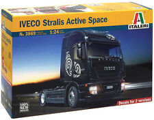 ITALERI 1:24 KIT TRUCK CAMION IVECO STRALIS ACTIVE SPACE CUBE  art. 3869