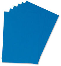BINDING COVERS Leathergrain Look A4 Blue [Pack 50x2]