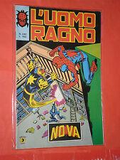 UOMO RAGNO spiderman -N° 242 -prima SERIE 1°- DEL 1979 -EDIZIONI CORNO- usato-b