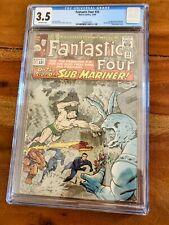 Fantastic Four #33 1964 1st appearance of Attuma CGC 3.5