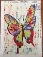 DIY Full Drill Square Diamonds 20 x 30cm 5D Diamond Painting Butterfly Kit NEW
