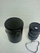 Sigma / Pentax 28mm-85mm 1:3.5 -4.5 zoom lens with dust covers and case