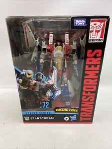 Transformers Studio Series 72 Voyager Transformers: Bumblebee Starscream Figure
