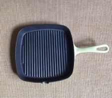 "Well Equipped Kitchen Cast Iron 9"" Square Bacon Skillet Enamel Coat"