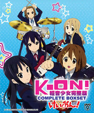 Anime DVD: K-ON! (Season 1+2 + 5 Ova + The Movie) *Eng_Sub* + Extra DVD