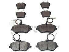 PEUGEOT 407 2.2 HDi 2.7 3.0 2004-2011 FRONT & REAR BRAKE PADS SET (FRONT 330MM)