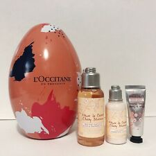 L'Occitane Cherry Blossom Set: Bath & Shower Gel, Shimmering Lotion & Hand Cream