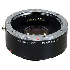 Fotodiox Objektivadapter Pro Autofocus 2x Teleconverter für Canon EOS (EF, EF-s)