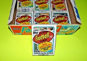 1988 TOPPS FOOTBALL Sealed Pack JACKIE SLATER on TOP eric dickerson on back BO ?