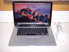 """Apple MacBook Pro A1286/2.4ghz Core i5/8GB/500GB/15.4""""/2010/Sierra-NICE!!!"""