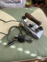 GE General Electric Vintage Rocket Iron 119F12 W Power Cord Works Perfect Beauty
