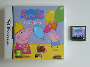 PEPPA PIG FUN AND GAMES * NINTENDO DS GAME / DS LITE / DSi ' 100% GENUINE