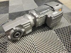 Sew Eurodrive KA29/T DRN80M4/BE2HR Hollow Shaft Gear Motor 1 HP / 130 RPM