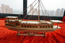 Wooden china sail boat song dynasty yacht ancient ship
