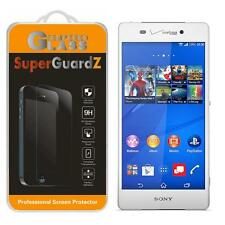 SuperGuardZ Tempered Glass Screen Protector Shield Guard For Sony Xperia Z3v