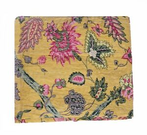 Indian Kantha Quilt Bedspread Bedding Throw Cotton Blanket Handmade Vintage Twin