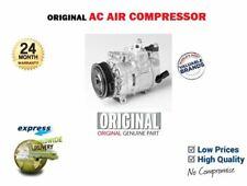 VW TIGUAN  1.4i 2.0i TSi 4x4 2007-> NEW ORIGINAL AC AIR CONDITIONING COMPRESSOR