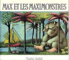 Max et Les Maximonstres * Maurice SENDAK * Grand album Souple  école des loisirs