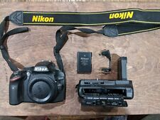 Nikon D D3200 24.2 Mp Digital Slr Camera - Black (Body + Battery Extender)