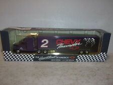 Ertl Chevrolet Racing Transporter - #2 Chevy Thunder - 1:64 Scale