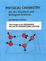 Physical Chemistry for the Chemical and Biological Sciences(Int' Ed Paperback)3E
