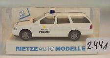 Rietze 1/87 50590 FORD MONDEO torneo POLIZIA POLICE Eupen Belgio OVP #2441