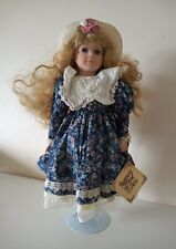 Regency Fine Arts 'Maria' Collector's Edition Porcelain Doll With Display Stand.