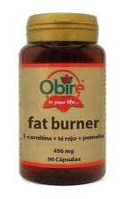 Obire fat burner 496mg / 90caps. L-carnitine red tea grapefruit lose weight !!!