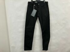 NEW G-star Raw 3301 Slim Black stretch denim jeans Mens Sz 30  RRP$160