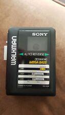 Vintage sony walkman cassette player