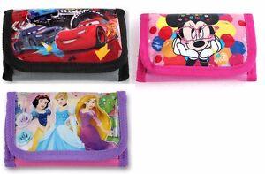 Cars Minnie Mouse Prinzessin Geldbörse Portmonee Kinder Geldbeutel Portmonnaie