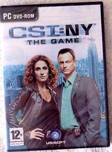 39659 - CSI NY The Game [NEW / SEALED] - PC (2008) Windows XP