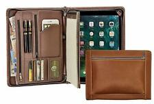 iPad Pro 12.9 Handmade Vintage Genuine Leather Portfolio Case Conference Folder