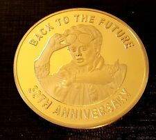 Back to the Future Gold Coin Trilogy Michael J Fox