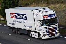 Truck Photos Irish Wyse Transport Scania R450 & fridge 172-D--4585