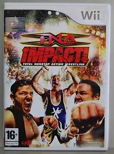 Tna Impact - Nintendo Wii - Version Spain - Full - Physical CD