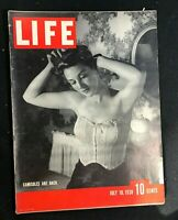 LIFE MAGAZINE  July 18 1938  FASHION - CAMISOLES / Censorship / Red River Valley