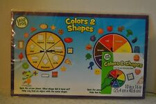 Leap Frog Colors & Shapes Dry Erase Activity Mat Game Board/Classroom Homeschool