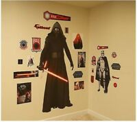 Fathead Star Wars Episode VII Kylo Ren and Captain Phasma Wall Decals New in Box
