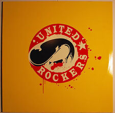 "2 LP 12"" United Rockers Rockabilly, Rock & Roll, Surf, Garage Rock,  EMI REC. M-"