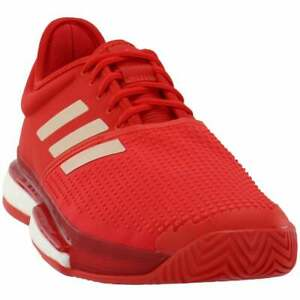 adidas Solecourt Womens Tennis Sneakers Shoes Casual   - Red - Size 11.5 B
