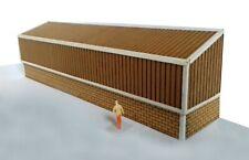 OO GAUGE / 4mm / 1:76 SCALE INDUSTRIAL WAREHOUSE BACK OF BUILDING KIT SIGNS INC.