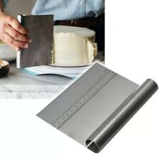 Stainless Steel Pizza Dough Scraper Cutter Baking Pastry Spatulas USA 🇺🇸