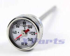 RR Temperatura Del Aceite Indicador Termómetro para Honda CM200T XL200R CB250N