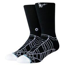 Stance NEW Men's Mr Cartoon Web Socks - Black BNWT