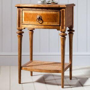 Frank Hudson Gallery Direct Spire 1 Drawer Bedside Cabinet