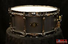 Noble and Cooley 6x14 Alloy Classic Black Snare Drum