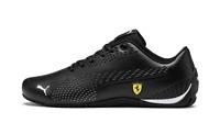Puma Ferrari Drift Cat 5 Ultra II Mens Trainers in Black and White Shoes