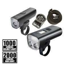 Magicshine DRL Bicycle Light Set, Allty 1000 and Allty 2000, Helmet Lights